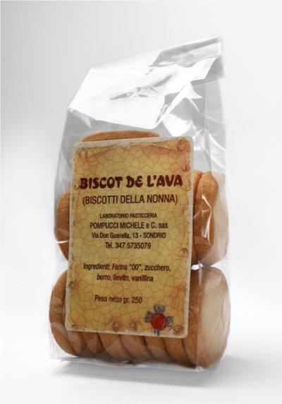 Biscot de l`ava - Biscotti della nonna