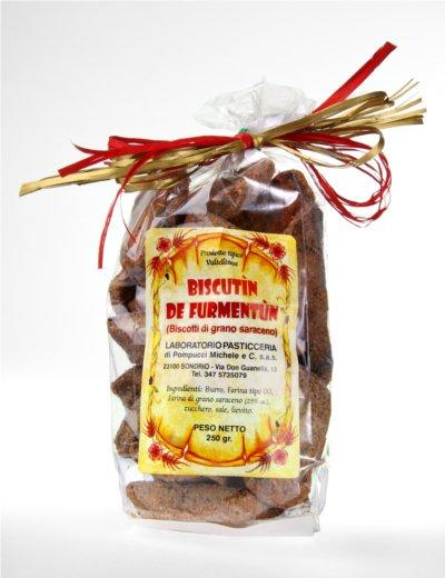 Biscutìn de furmentùn - Biscotti di grano saraceno