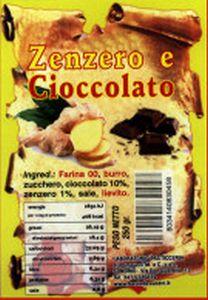 Zenzero e Cioccolato