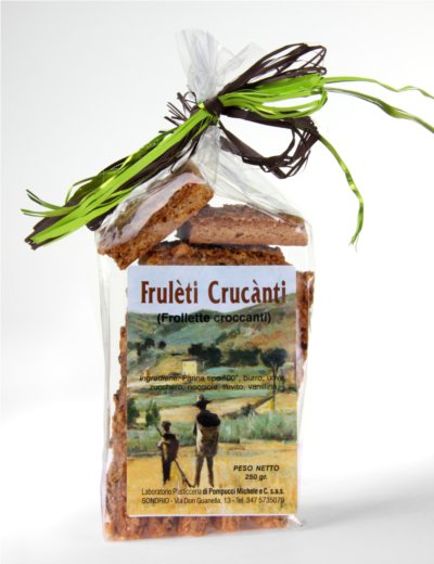 Frulèti crùcanti - Frollini croccanti