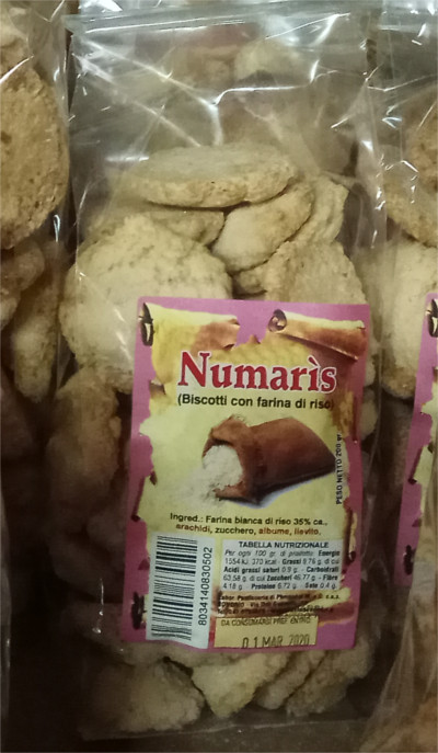 Biscotti secchi con solo farina di riso