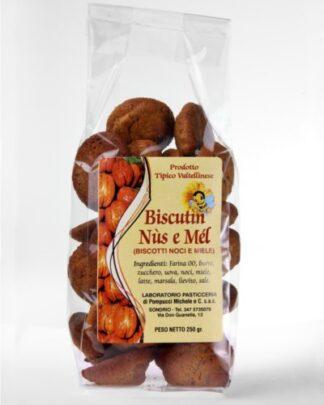 Biscotti noci e miele